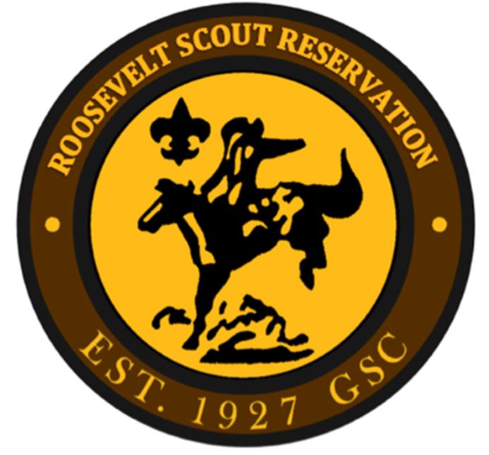 Logo for Roosevelt Scout Reservation