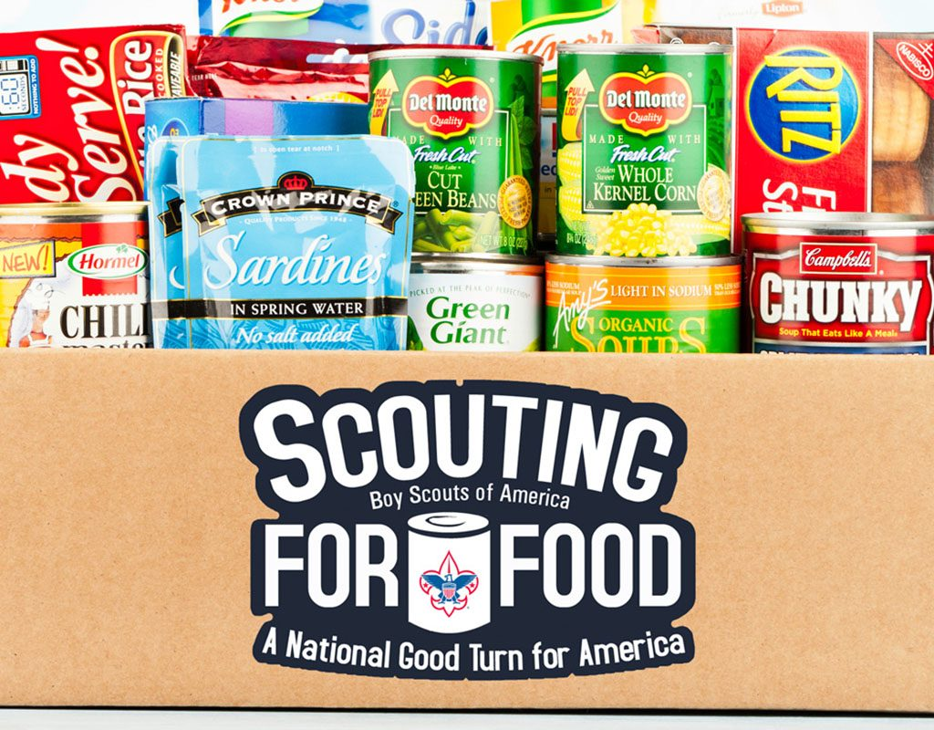 Scouting for Food food drive