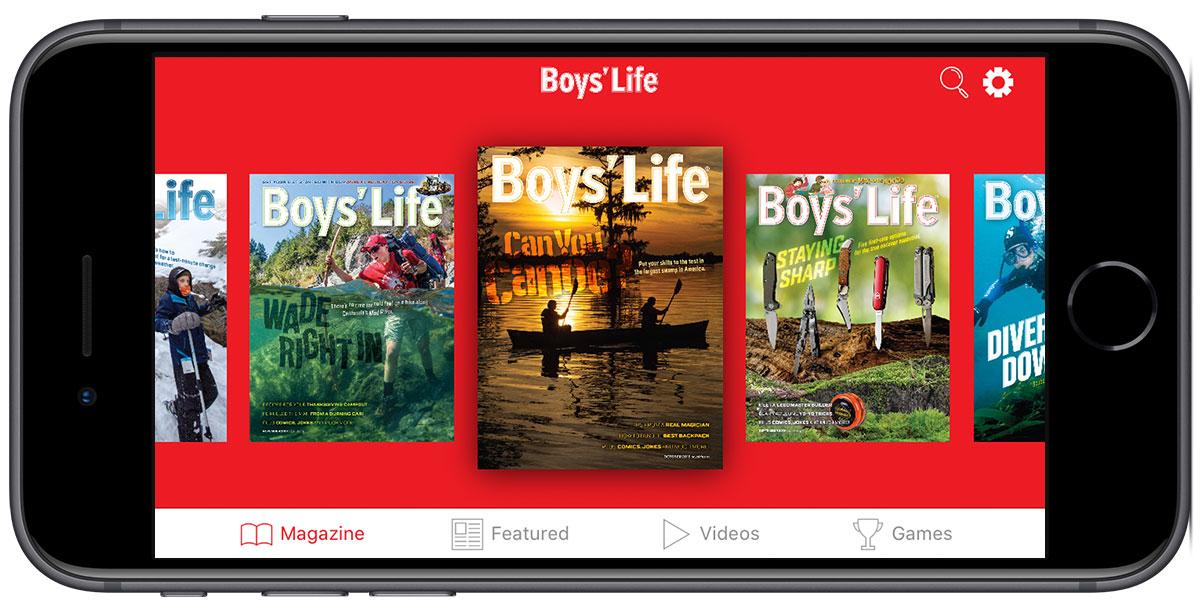 Boy's Life Magazine digital editions