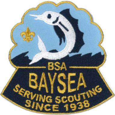 Garden State Council Baysea District patch logo