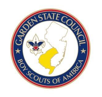 Garden State Council, BSA, logo pin