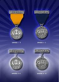 The 4 religious awards by grade level available to Sikh scouts