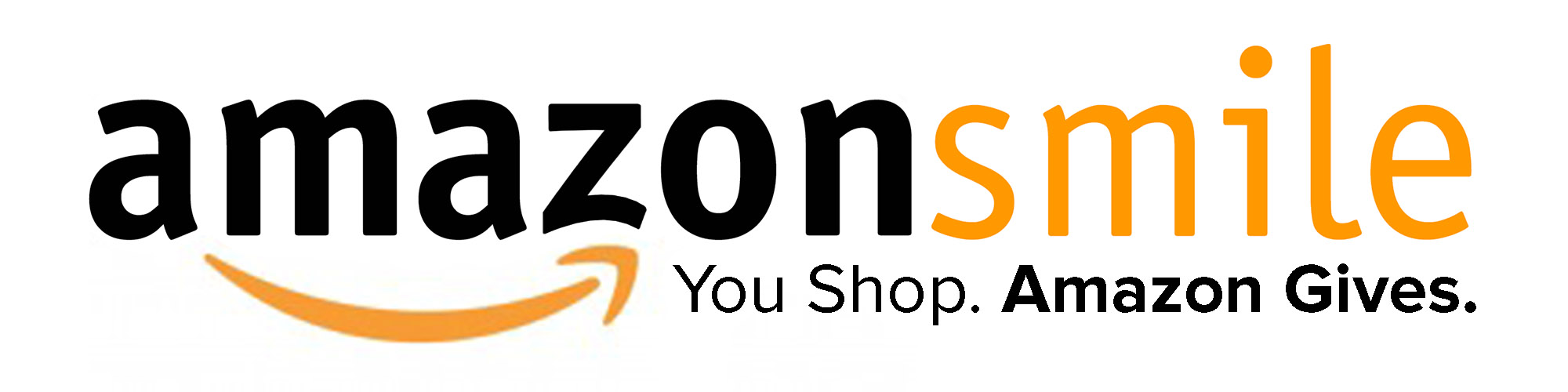 Amazon Smile logo. When you shop, Amazon will give to Garden State Council or the non-profit of your choice.