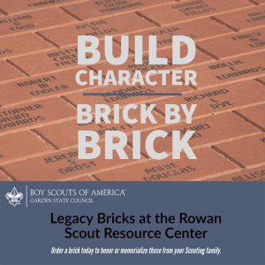 Honor a loved one with a custom message on a brick in our Legacy Brick walkway