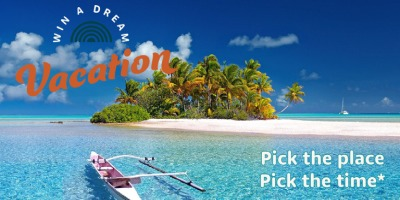 Win a dream vacation from Garden State Council